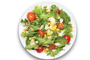Tossed Corn and Tomato Salad