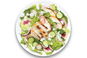 Grilled Summer Chicken and Ranch Salad