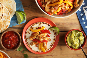 Air-Fryer Mini Chicken Fajitas