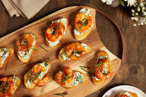 Shrimp Cocktail Toasts