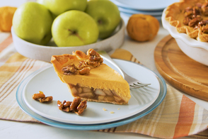 Pumpkin, Pecan & Apple Pie
