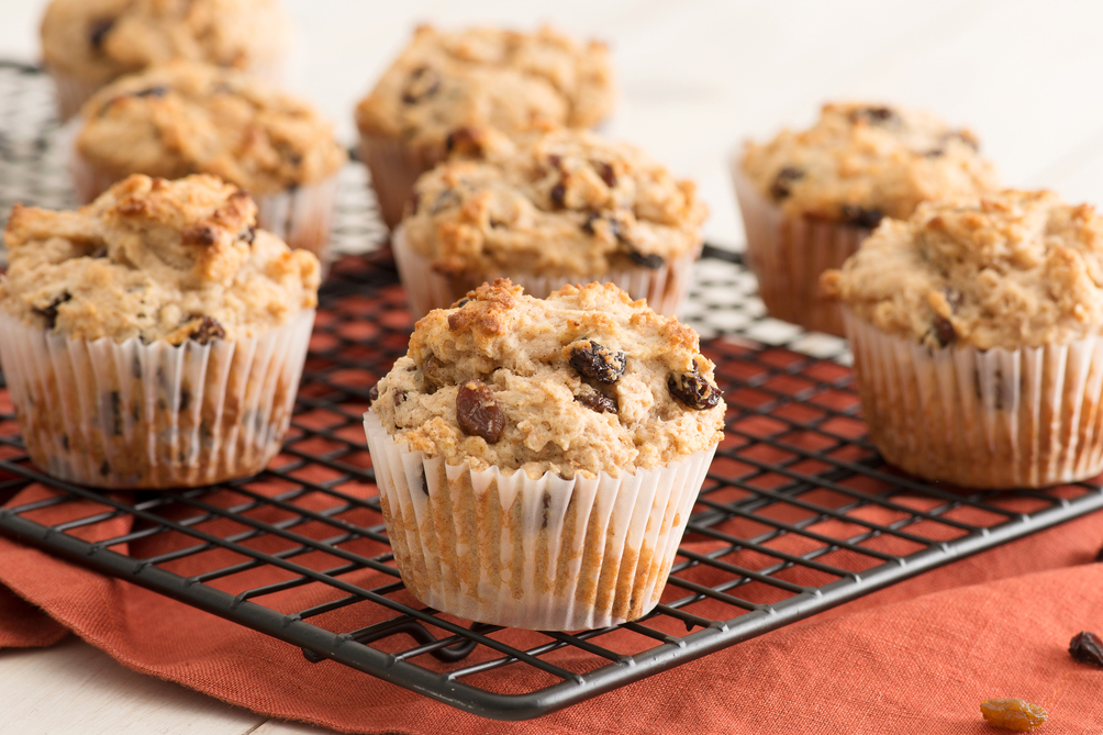 Yogurt Honey Muffins
