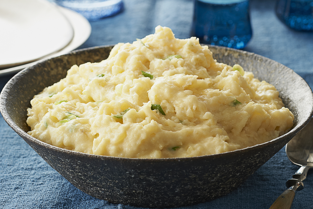 Cheesy Make-Ahead Mashed Potatoes