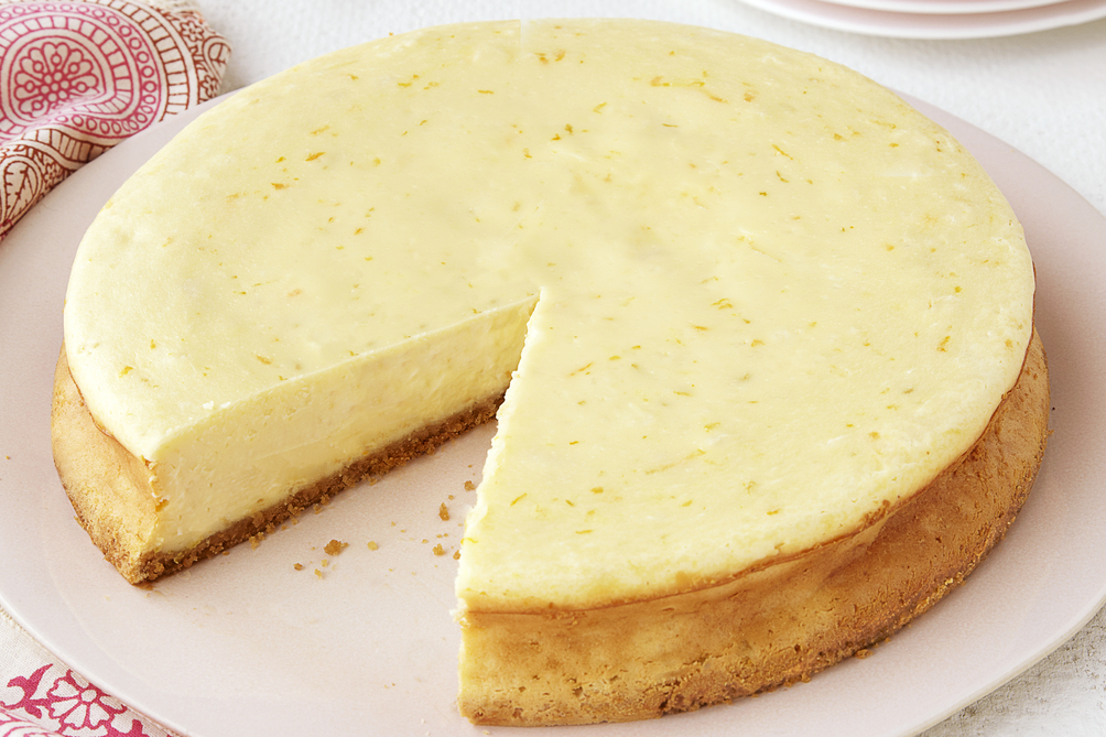 Triple-Citrus Cheesecake